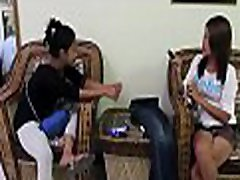 Asian bitch gets seduced and banged rough by some guy
