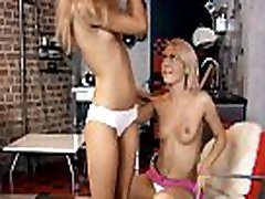 2 gorgeous clean hairless teens love to have fat men chinese fun