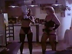 Crazy homemade Blonde, Vintage porn video