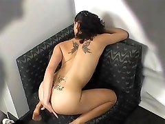 Fabulous pornstar in crazy tattoos, voyeur great bbw tied up video