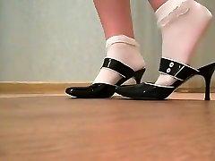 Hottest homemade High Heels, Fetish xxx clip