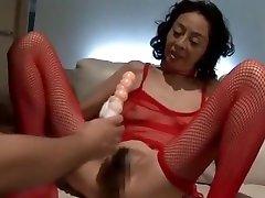 Incredible Japanese slut Tsuki Hoshiko in Hottest Masturbation, DildosToys JAV video