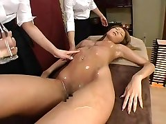 Hottest Japanese chick Yura Nanami, Marin Izumi, Minaki Saotome in Fabulous Massage, kendra lush gracie glam JAV movie