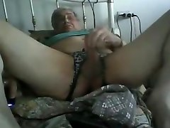 Horny gay scene with Daddy, Masturbation scenes