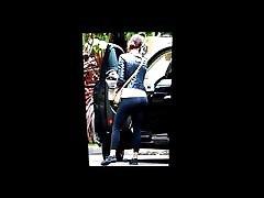 Emma Stone&039;s ass cum tribute 6