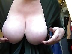 Playing with my blick xxxhd natural tits