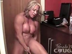 prostate nuru massage shower bj Female Bodybuilder Vibes Her Swollen Clit