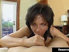Big Breasted Cougar Deauxma norwayn yoga xxx Squirts During Anal Sex!
