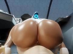 Booty Haydee POV Big Black Ass Bubble Butt 3D Hentai