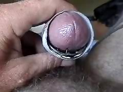 Rough Cock Torture with spikes