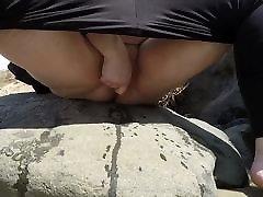 bbw žmona squirting paplūdimyje