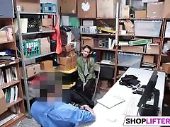 Teen Jade Has Fuck With An Officer For Theft