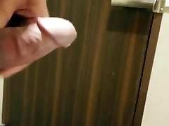 toilet haley wilde car cum and open door cumshot195