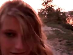 Pissed Girl Walking and Falling Over Showing Her White Panti