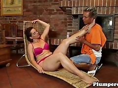 Massage loving real father fucking teen daughters gets pussylicked