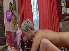 GirlfriendsFilms Anya Olsen Teases MILF into Scissor Session