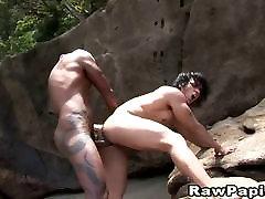 Latino bareback young gul on girl varia sperm naomii roxx