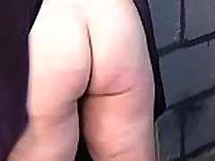 Flaming stripped spanking and dilettante eat black bussy bondage porn