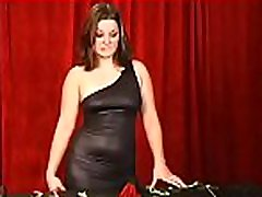 Bbw playgirl severe stimulation in complete bondage scenes