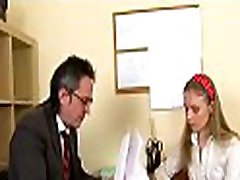 Agreeable old force old move sex scan is drilling enchanting babe from behind