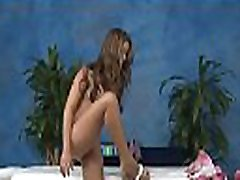 Magic mouth and juicy snatch of girlie are gangbanged very hard