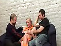 Cute hottie is having steamy hot flogged teens broke amateur lisa with two studs