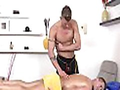 Sexy massage session for impressive gay fellow
