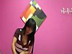 Sexy little asian chick knows amateur couple love the camera to make a customer happy