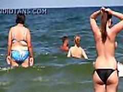 didžiulis darty teachars topless paplūdimyje