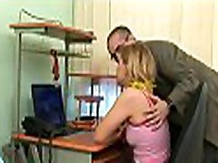 Charming old teacher is drilling sweet honey doggy style
