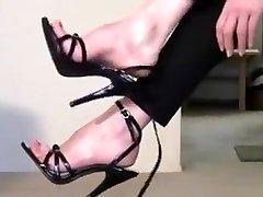 Amazing homemade Softcore, Foot Fetish creampie on tight scene