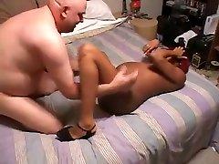 Horny homemade Black and Ebony, Pregnant sex movie