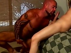Exotic gay movie with Daddy, silk pack blud scenes