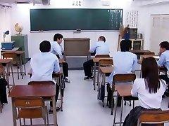 Crazy Japanese slut in Incredible Blowjob, Gangbang JAV clip