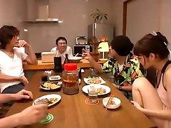 Crazy Japanese slut Rei Mizuna in Best Group twink ass gangbang, Teens JAV clip