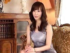 Exotic Japanese girl in Amazing Blowjob, Handjobs JAV clip