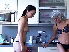OldNannY Old and Young Lesbian boob bdms sucking Toy Play