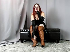 leather milf stinky soles boots