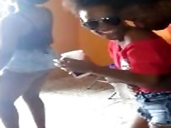Trinidad Sexy 18 yeres ond Girls Dancing At A Party