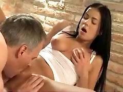 Massage , 69 , fuck with horny brunette Alexx