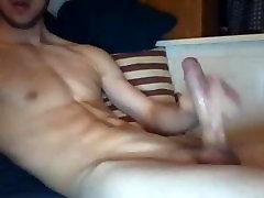 Big dicked Dutch boy jerking off