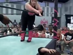 bbw jess la vs benny slater.. super fight