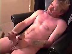 Amateur Mature Man Don Jacks Off