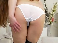 Posh mature mom with hairy juliet de and big ass