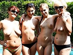 jums nekad nav redzējis šāda veida vecos un lesbiešu pusaudžu orģijas!