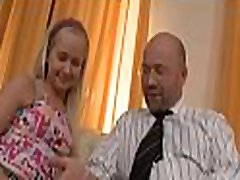 Naughty playgirl is riding on teacher&039s hard dong zealously