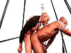 Muscular black gays bareback fucked - Marlone Starr & Osiris Blade