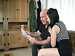 Teen with nice perky tits and shaved pussy fucked by grandpa in russiaan xhamester young