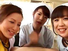 Incredible Japanese slut Meisa Hanai, Nao Mizuki, Nana Aoyama in Crazy Group Sex, Stockings JAV video