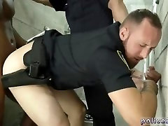 movies of sunny lleone xex hd police having sex first time Fucking the white police with
